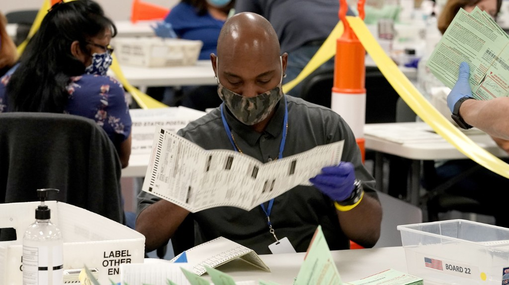 With Deluge Of Mail Ballots, Here's When To Expect Election Results In 6 Key States