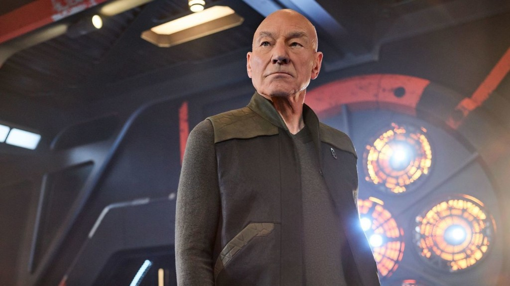 Patrick Stewart On His Return To 'Star Trek': 'I'm Braver Now Than I Was'