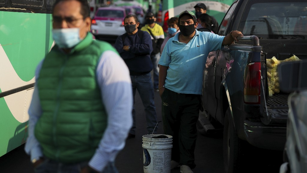 Mexico's President Touts Reopening With The Country Mostly In Coronavirus Red Zone