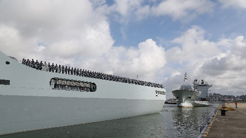 China Dispatches Troops To Djibouti To Set Up Its First Overseas Base