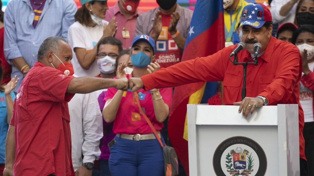 Maduro Allies Set To Win Back Venezuela's Congress In Vote Boycotted By Opposition
