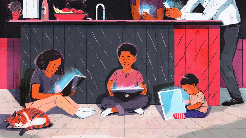 Forget Screen Time Rules — Lean In To Parenting Your Wired Child, Author Says