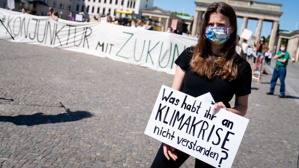 'Make The Climate A Priority Again,' Says Germany's Student Activist Neubauer
