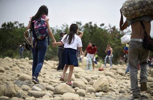 Venezuela's Teachers And Students Skip School For Survival