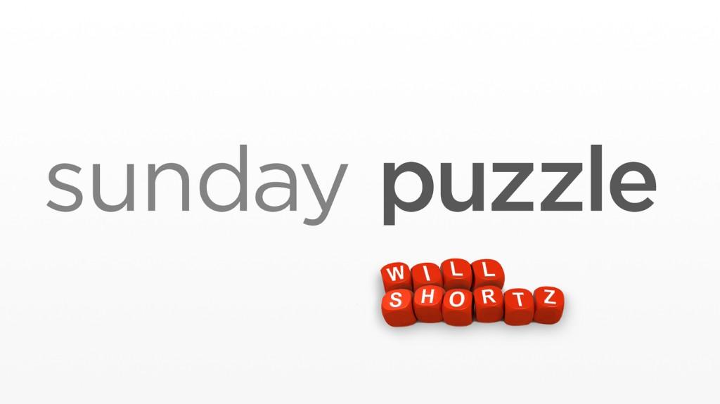 Sunday Puzzle: The R&F Scramble