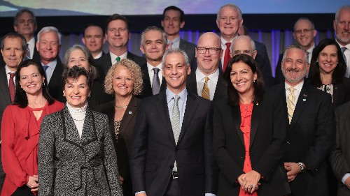 Dozens Of Mayors Sign Pact To Reduce Greenhouse Gas Emissions