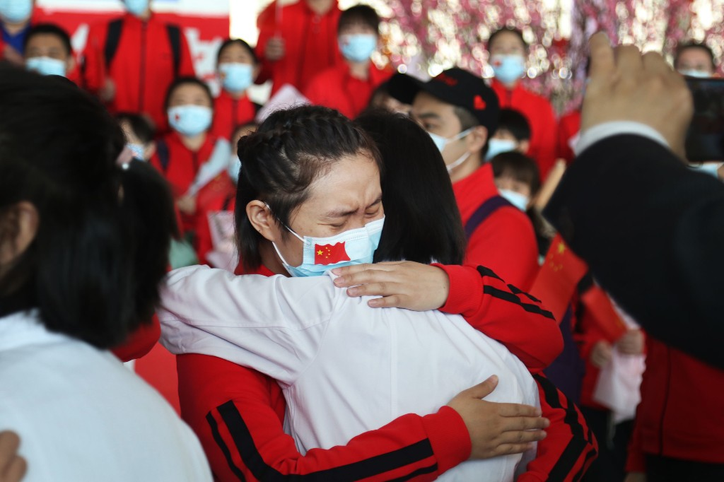 As China's Wuhan Ends Its Long Quarantine, Residents Feel A Mix Of Joy And Fear