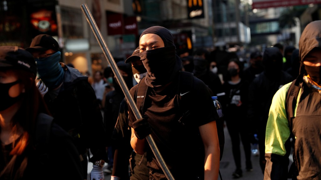 Hong Kong In Tumult: Man Is Set On Fire Hours After Police Officer Shoots Protester