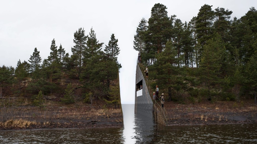 Architect Remembers Massacre Victims With 'Wounded' Landscape