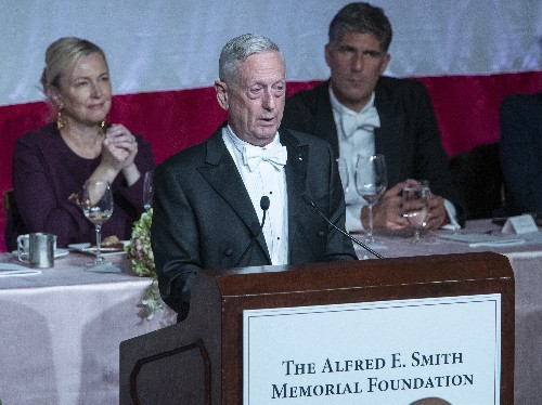 Mattis Takes Swipe At Trump: 'I Earned My Spurs On The Battlefield'