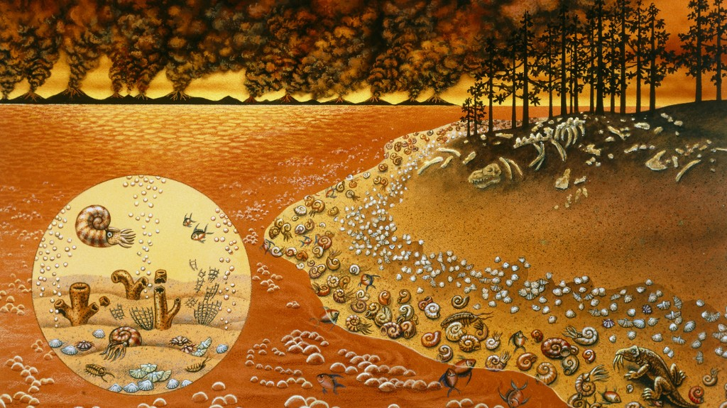 The 'Great Dying' Nearly Erased Life On Earth. Scientists See Similarities To Today