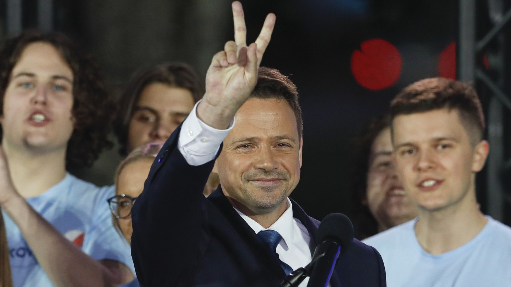 Poland's Nationalist President Narrowly Wins Reelection