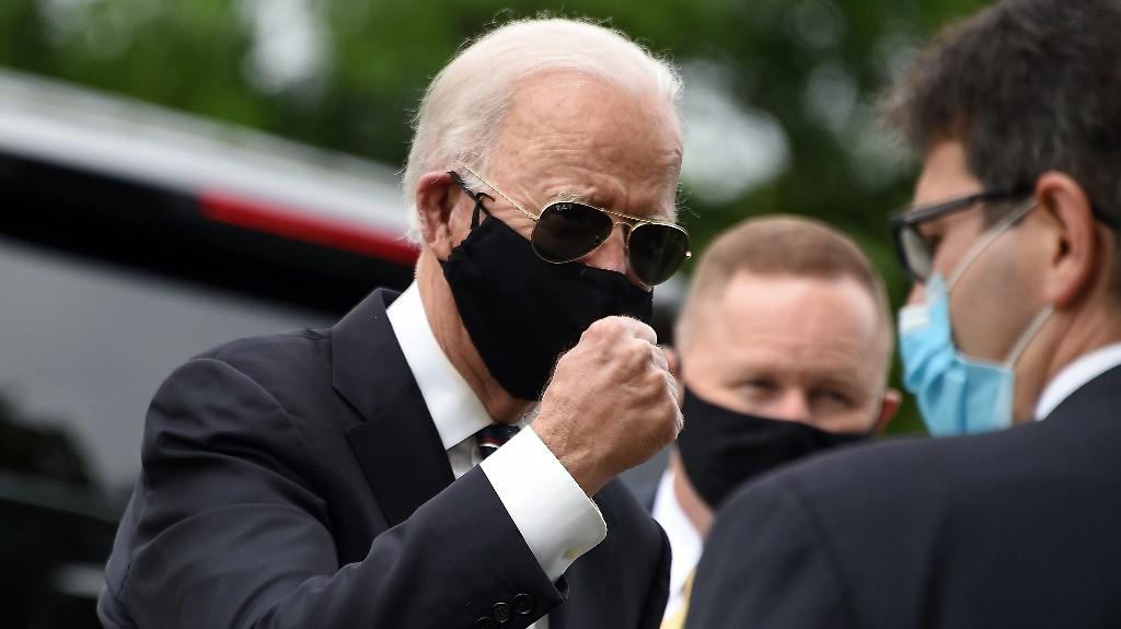 Biden Leaves Home To Visit Delaware Protest Site