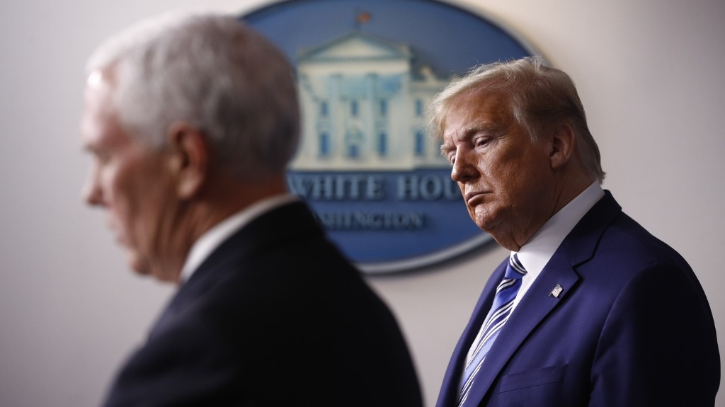 Former Pence Aide Backs Biden, Drawing Scorn From Trump