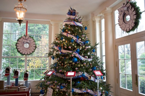 Christmas At The White House, Where You'll Want To Hang That Snowflake Just Right
