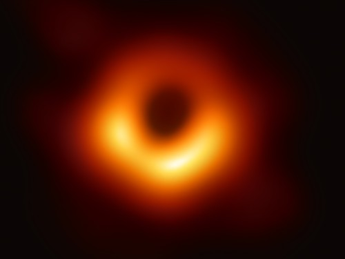 Earth Sees First Image Of A Black Hole