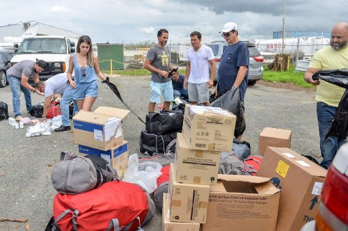2 Strangers, A 6-Page List And A Plan Hatched To Help Puerto Rico