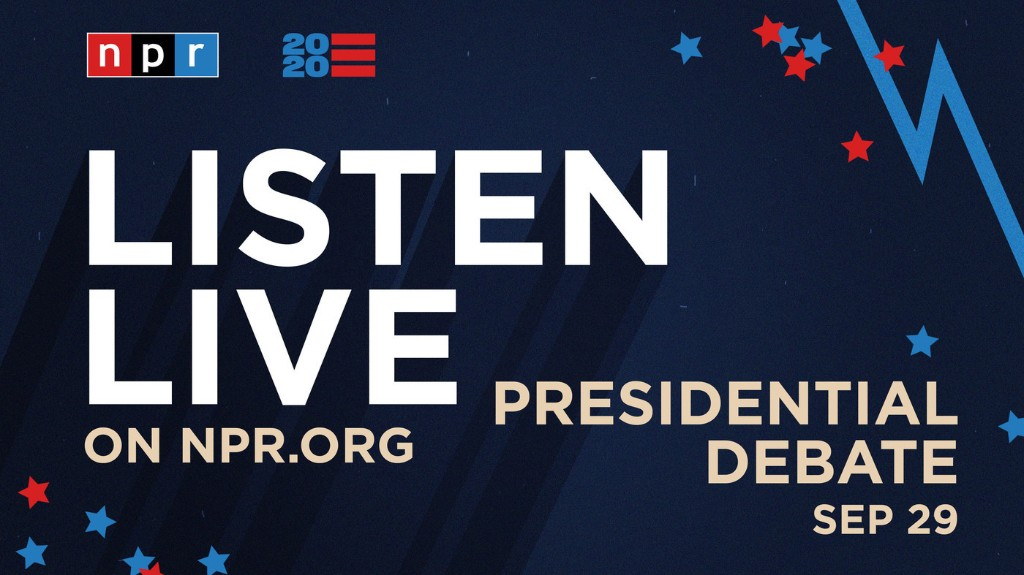 Live: Listen To The 1st Trump-Biden Debate