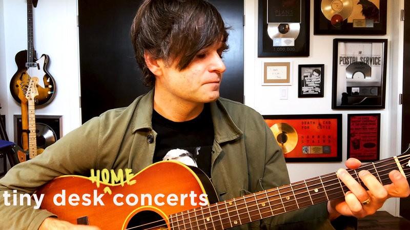Ben Gibbard: Tiny Desk (Home) Concert