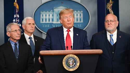 President Trump Confirms 1st U.S. Coronavirus Death; U.S. Heightens Travel Warnings