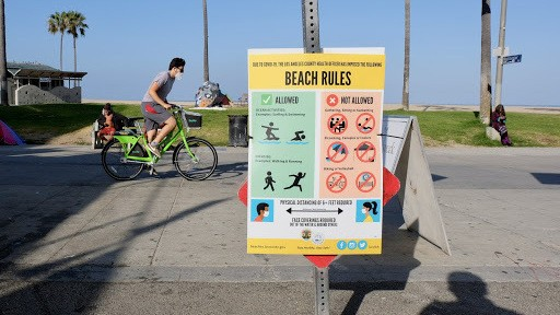 In Los Angeles, Relief And Caution As Locals Return To Venice Beach