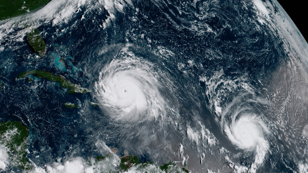 Hurricanes Are Sweeping The Atlantic. What's The Role Of Climate Change?