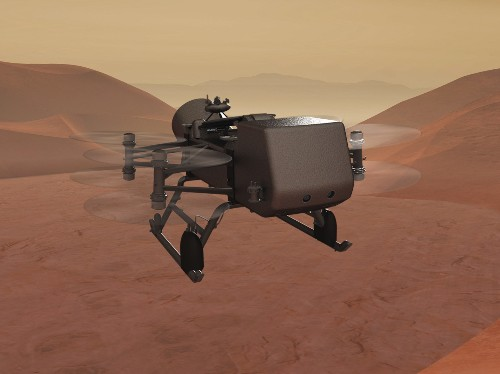 Meet The Nuclear-Powered Self-Driving Drone NASA Is Sending To A Moon Of Saturn