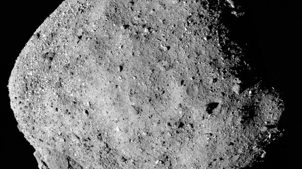  Listen Now: If This NASA Spacecraft Can Avoid 'Mount Doom,' It Might Nab A Bit Of Asteroid