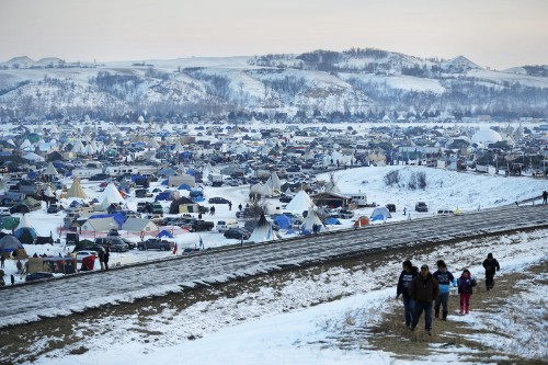 Army Corps Denies Easement For Dakota Access Pipeline