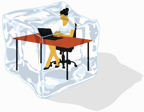 Study Shows Freezing Office Temperatures Affect Women's Productivity