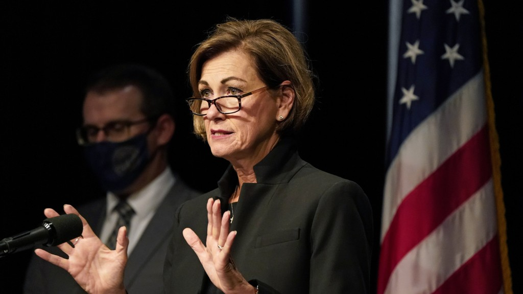 Iowa Governor Reverses Course, Issues Mask Mandate As COVID-19 Cases Rise