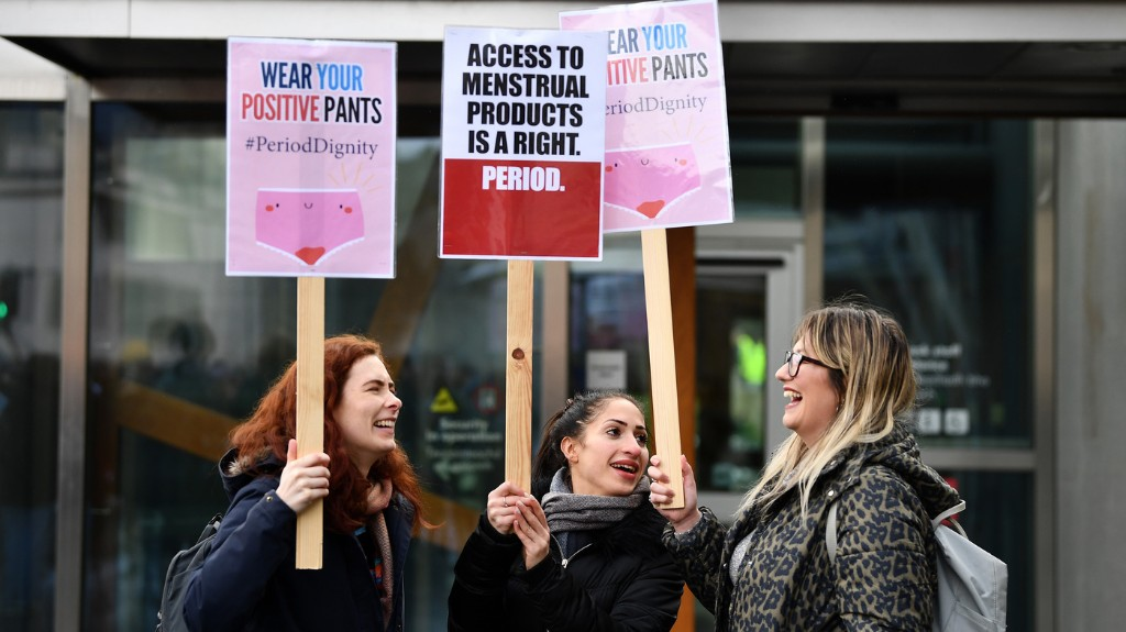 Scotland Becomes 1st Country To Make Period Products Free
