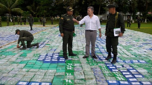 Colombia Reports A Historic Seizure Of Cocaine: More Than 13 Tons