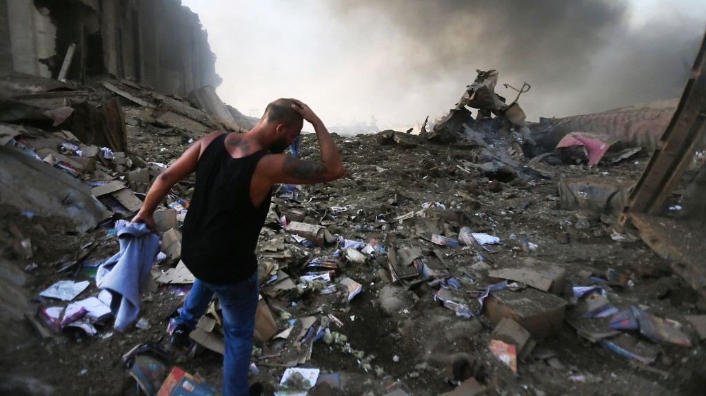 Photos: Explosion Leaves Beirut In Shatters