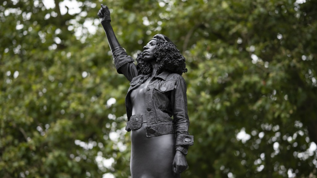Monument To Black Lives Matter Protester Replaces Slave Trader In Bristol