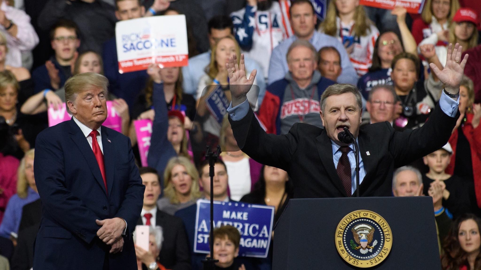 Trump In Pennsylvania: I Need Rick Saccone To Help 'Keep America Great!'