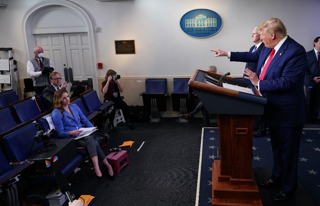 On Coronavirus, Trump Walks A Tightrope Between Grim Warnings And Offering Hope