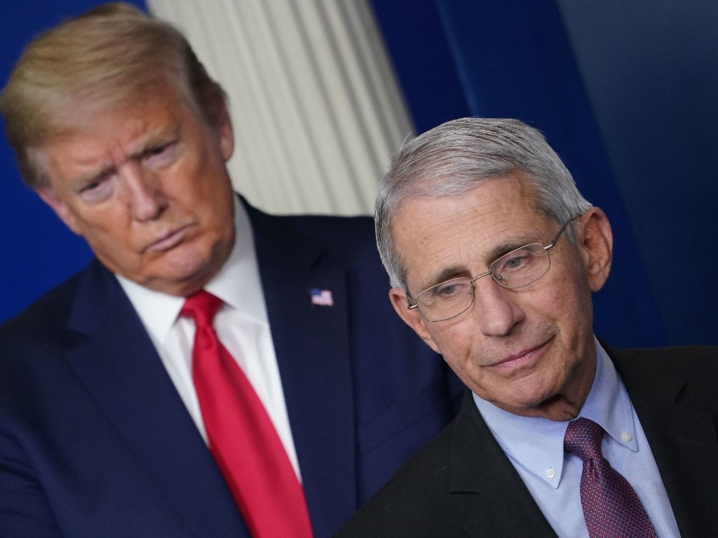 Fauci Voices Cautious Optimism About Moderna Vaccine, Calling Trial 'Quite Promising'
