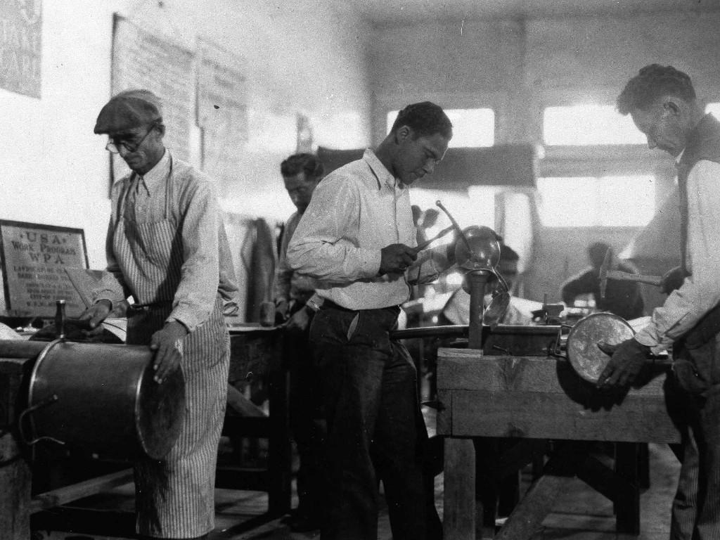 In The 1930s, Works Program Spelled HOPE For Millions Of Jobless Americans