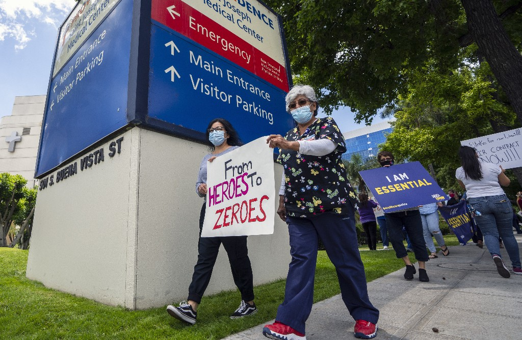 Trump Team Killed Rule Designed To Protect Health Workers From Pandemic Like COVID-19