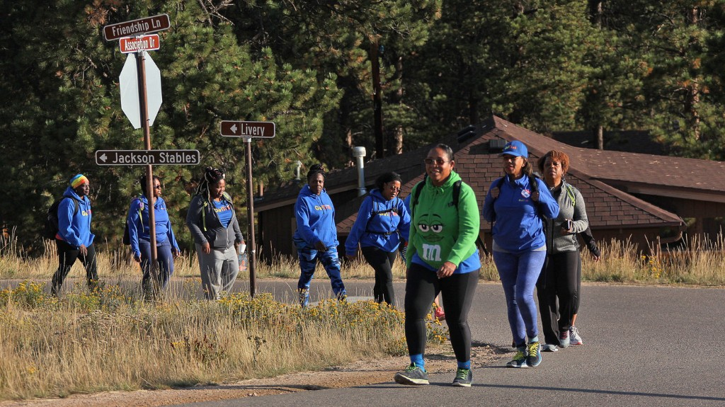 GirlTrek Uses Black Women's History To Encourage Walking As A Healing Tradition