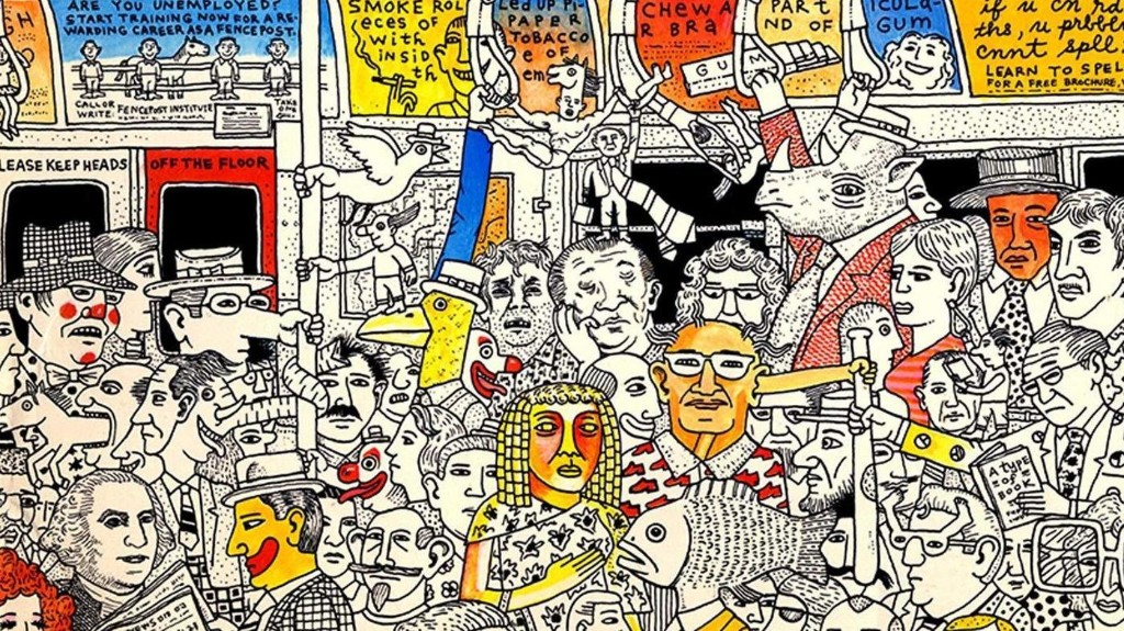 Joy In Excess: The Overflowing Art of Mark Alan Stamaty