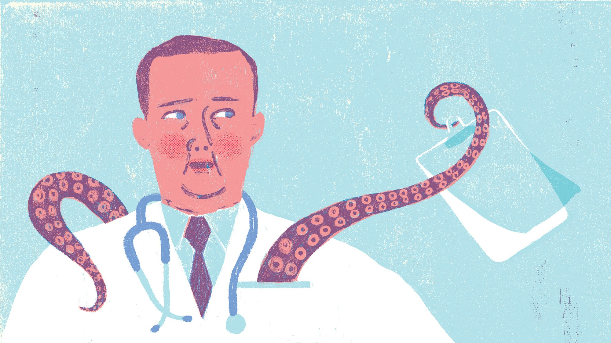 A Doctor Wrestles With Whether To Keep Wearing His White Coat