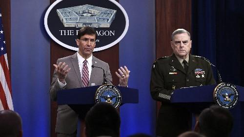Defense Secretary Gives Go-Ahead For U.S. Troops To Start Afghan Drawdown