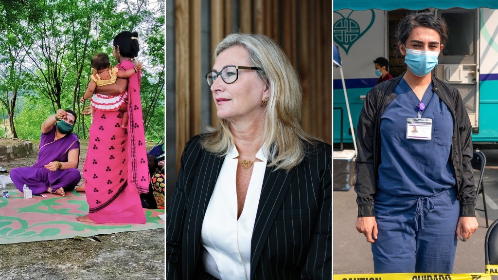 3 Women Health-Care Heroes: From Iceland's Top Doc To A Village Protector In India