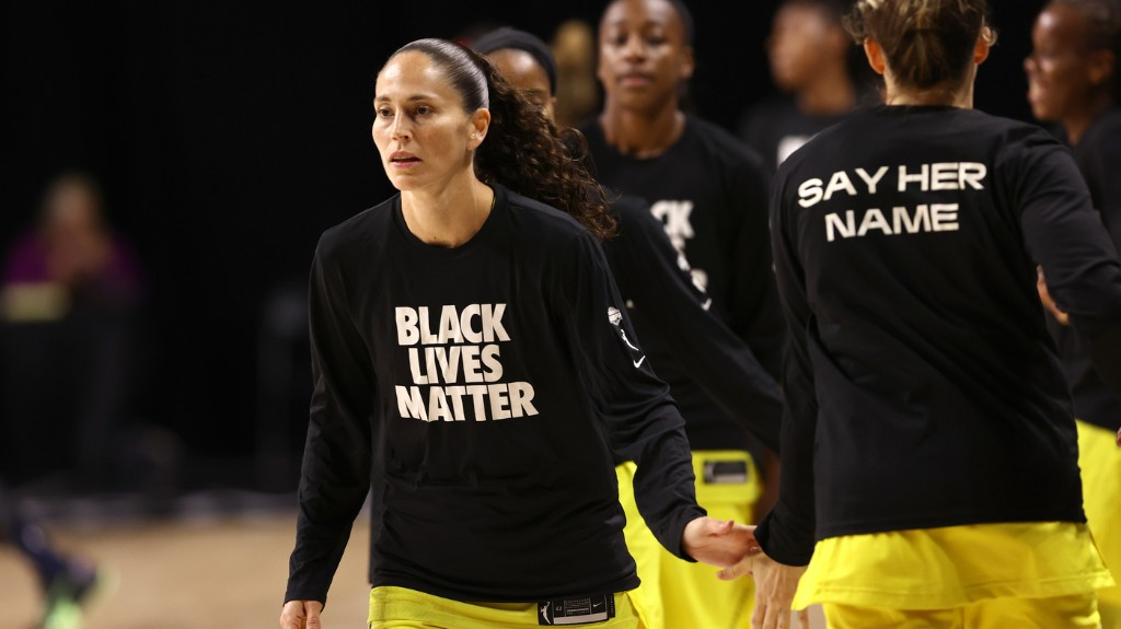 Basketball Star Sue Bird Says WNBA Players' Activism Is 'Nonnegotiable'