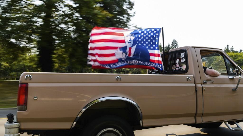 As Pro-Trump Caravans Hit Roads Across U.S., Organizers Are Upbeat Despite Tensions