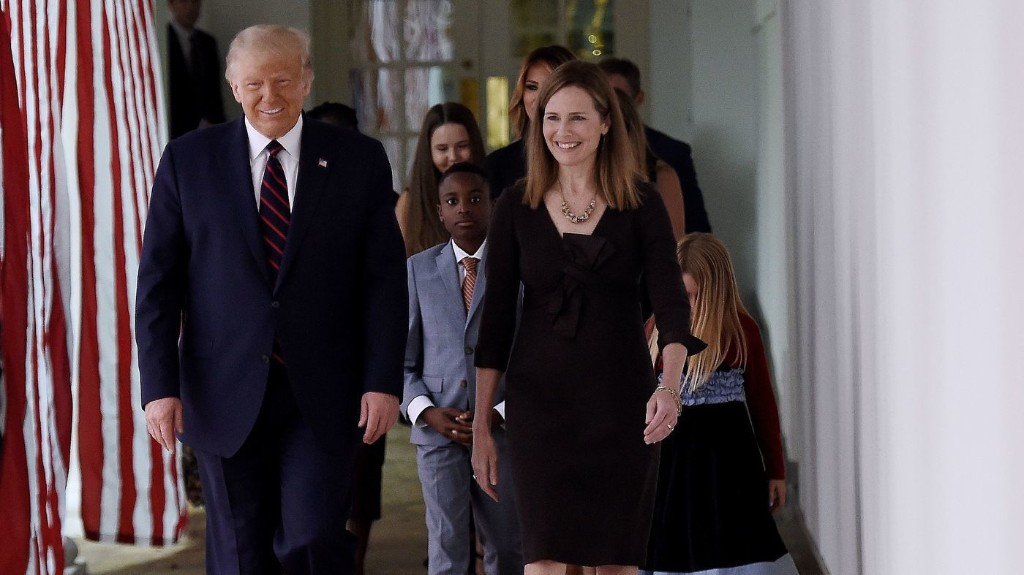 A Look At Amy Coney Barrett's Record On Abortion Rights