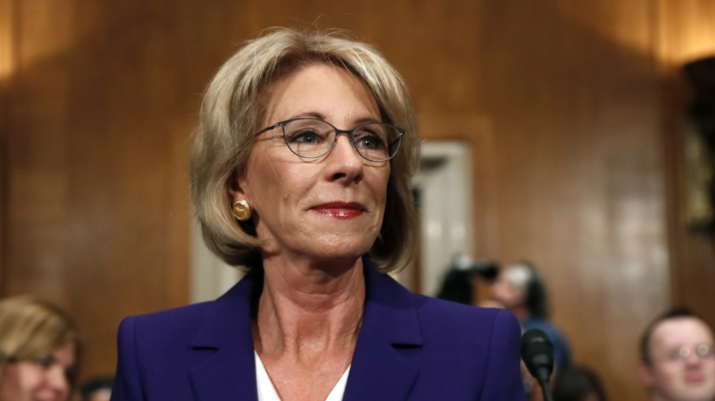 Betsy DeVos Confirmed As Education Secretary