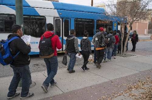 ICE Continues To Release Asylum-Seekers At Public Park In El Paso, Texas